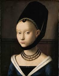 Petrus Christus - Potrait of a Young Girl