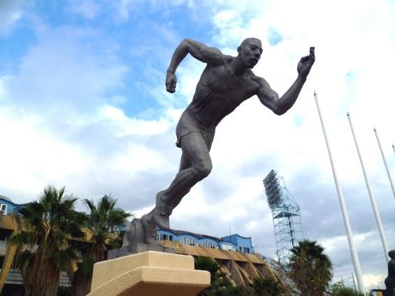 Alvin Marriott - The Athlete, 1962 (Sculpture Park, National Stadium)