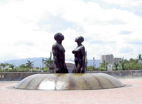 Laura Facey - Redemption Song (2003), Emancipation Park, Kingston, Jamaica (photo: Marc Rammelaere)