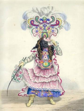 Isaac Mendez Belisario - Koo-Koo, or Actor Boy, from Sketches of Character, 1837-38
