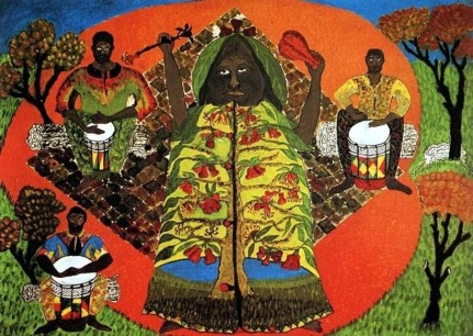 Everald Brown - Ethiopian Apple, 1969 (Collection: National Gallery of Jamaica)