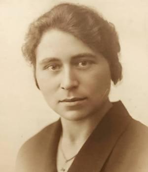 My maternal grandmother, Henriette Dumalin, c1925