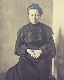 My great-grandmother Irma Deschepper (1877-1938), wife or Arthur Roose and mother of my maternal grandfather Karel Roose, c1900-1905