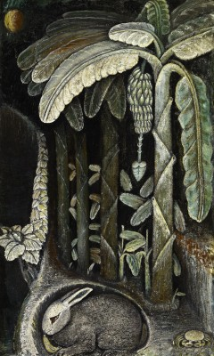 John Dunkley - Banana Plantation, c1945 (Collection: National Gallery of Jamaica)
