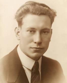 My maternal grandfather Karel Roose, c1925