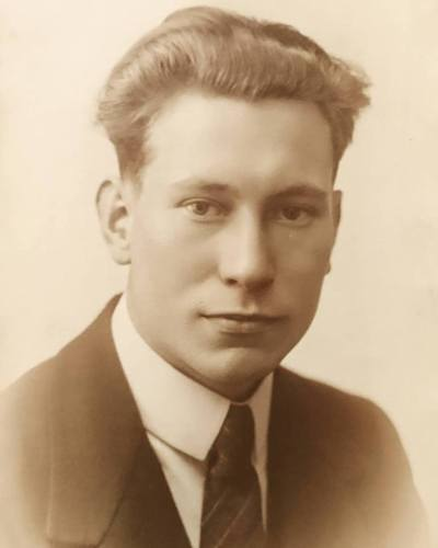 My maternal grandfather Karel Roose, c1925