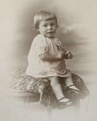 My mother, Maria Roose, as a young child, circa 1931