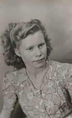 My mother, Maria Roose, c1950
