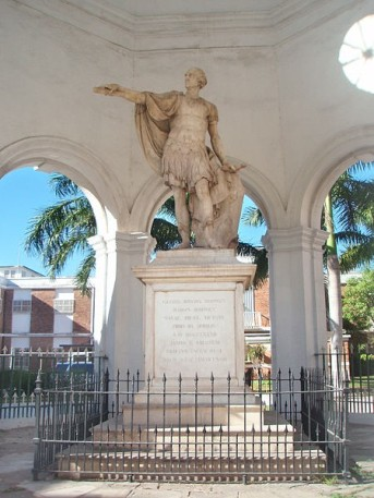 John Bacon - Rodney Memorial, 1790, Spanish Town square