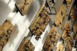 Benin Bronzes at the British Museum (photo source: Wikipedia)