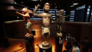 Sculptures from the Royal Palace of Abomey, Musée du Quai Branly, Paris (photo source: Wikipedia)