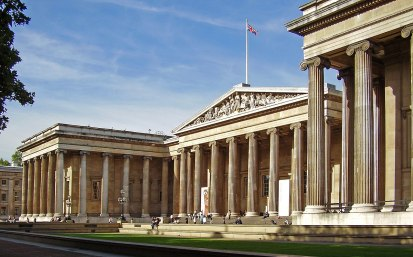 The British Museum (photo source: Wikipedia)