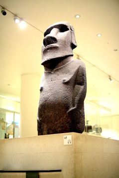 Hoa Hakananai'a (Rapa Nui/Easter Island), British Museum (photo source: Wikipedia)