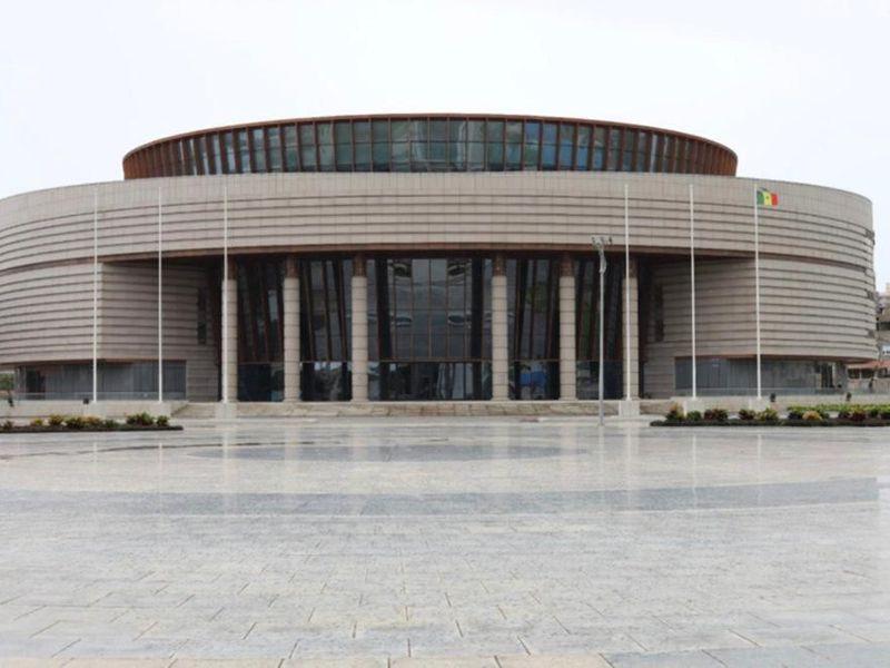 The new Museum of Black Civilization, Dakar, Senegal