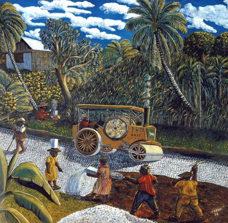 Tabois, Gaston Road Menders, 1956 - NGJ