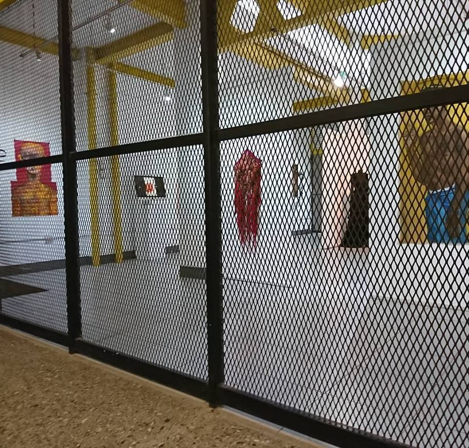 CAGe gallery with Manifestations exhibition