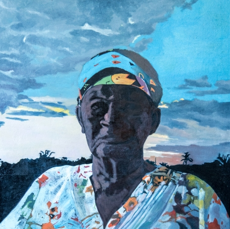 Kimani Beckford - Portrait of Silveta Clarke (2019) - courtesy of the artist, all rights reserved