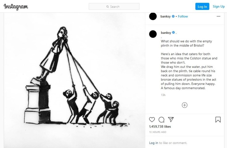 Banksy - Colston statue
